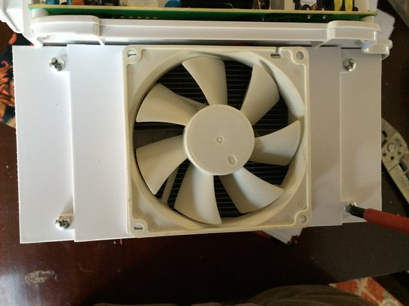 As you will see, the fans in this unit are not designed for easy removal or replacement