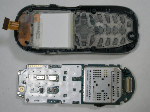 Disassembling Motorola i265 Logic Board