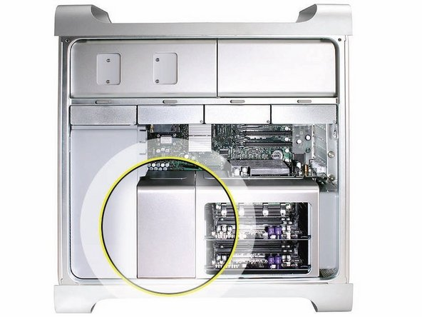 Heatsink Cover (Early 2008)