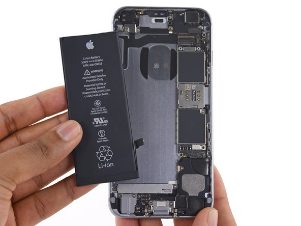 Remplacement de la batterie de l'iPhone 6s