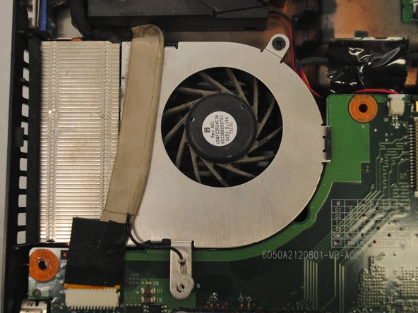 Toshiba Satellite A205-S4577 Fan Replacement