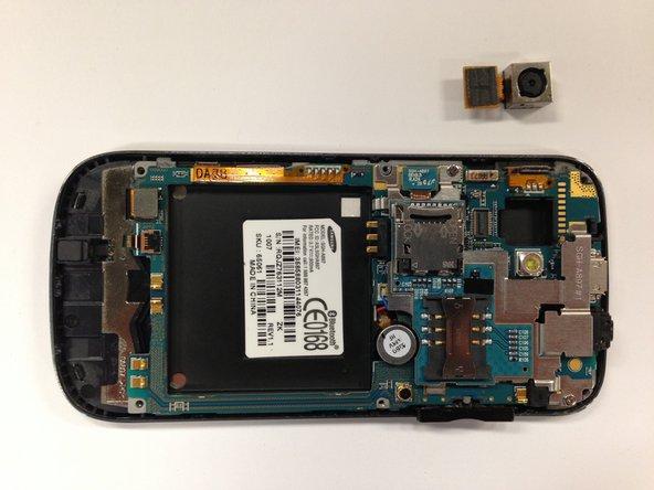 Remplacement de la caméra du Samsung Mythic SGH-a897
