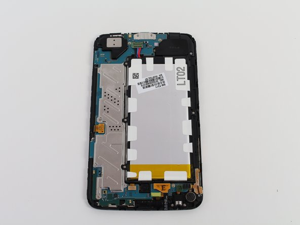 Samsung Galaxy Tab 3 7.0 3G Back Cover and Frame Replacement