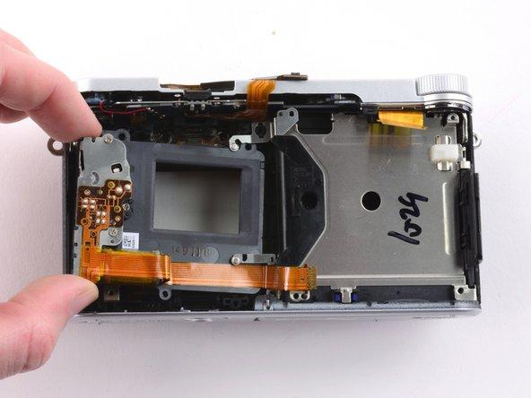 Remove the sensor frame.