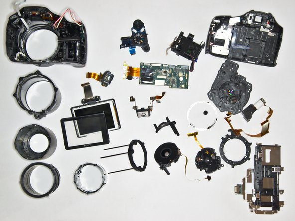 These are all disassembled part. Not everything is removed from the case and disassembled entirely