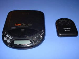 Sony D-822K Car Discman Repair