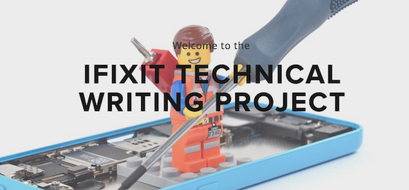 iFixit Technical Writing Project