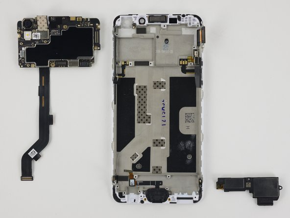 Motherboard and speaker assembly are now removable.