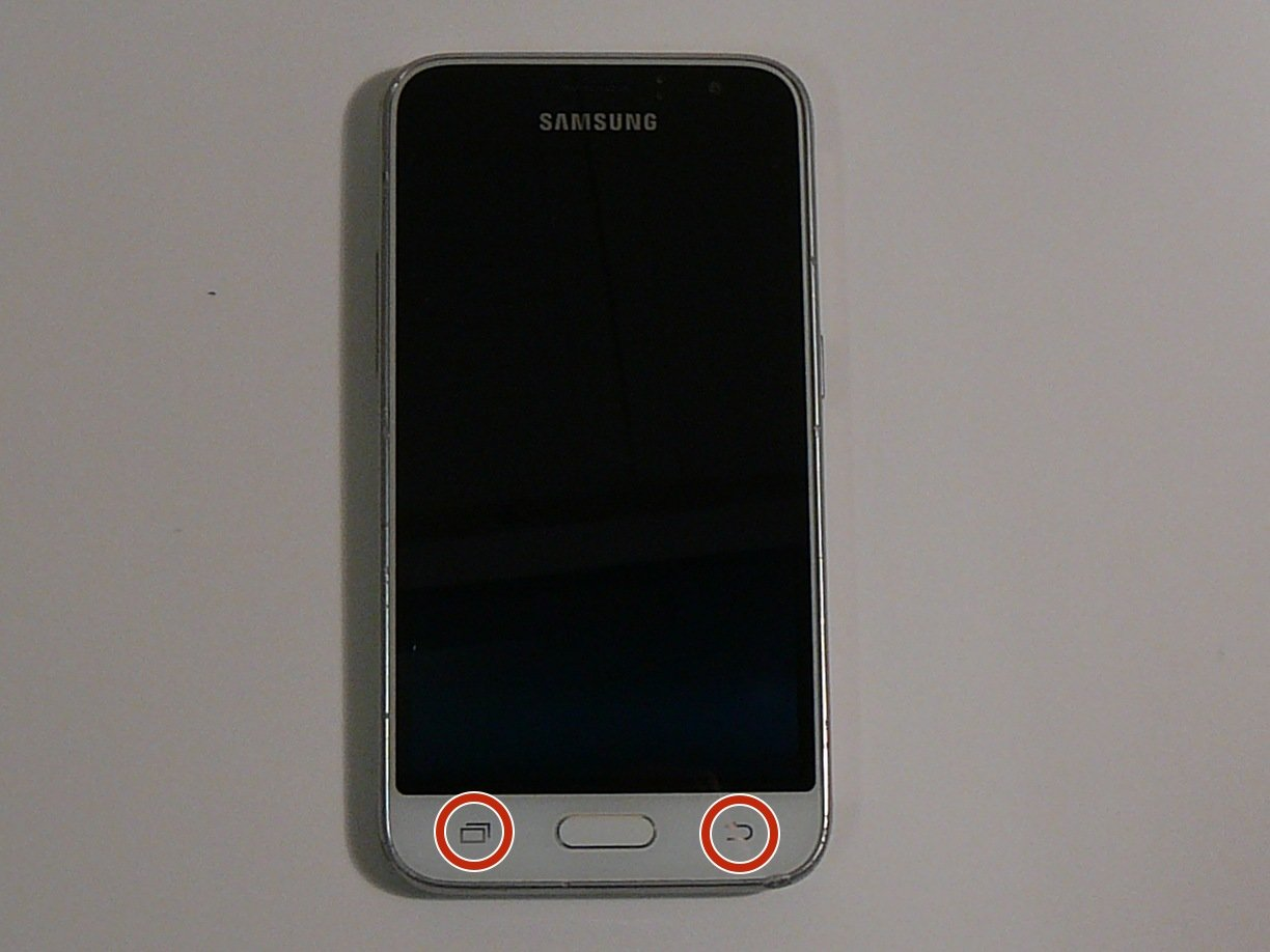 Samsung Galaxy Express 3 Back and Recent Apps button Replacement