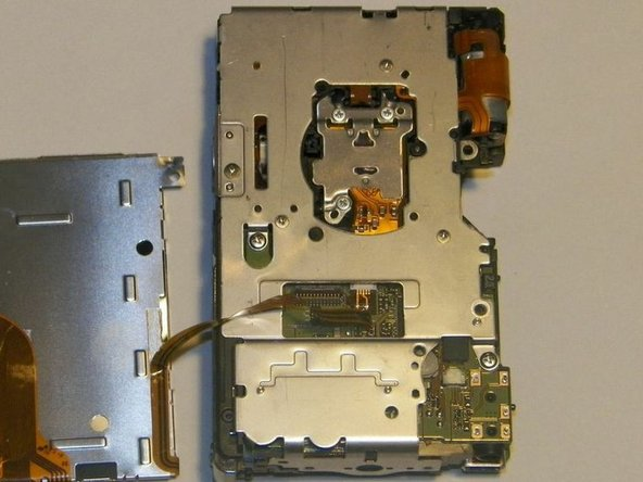 Canon PowerShot SD 600 Interior Rear Frame Replacement