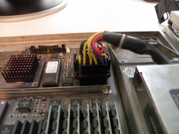 Removing the logic board: