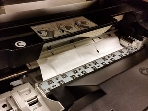 How to clear a Canon PIXMA MP190 paper jam
