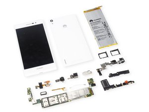 Huawei Phone p7 Teardown