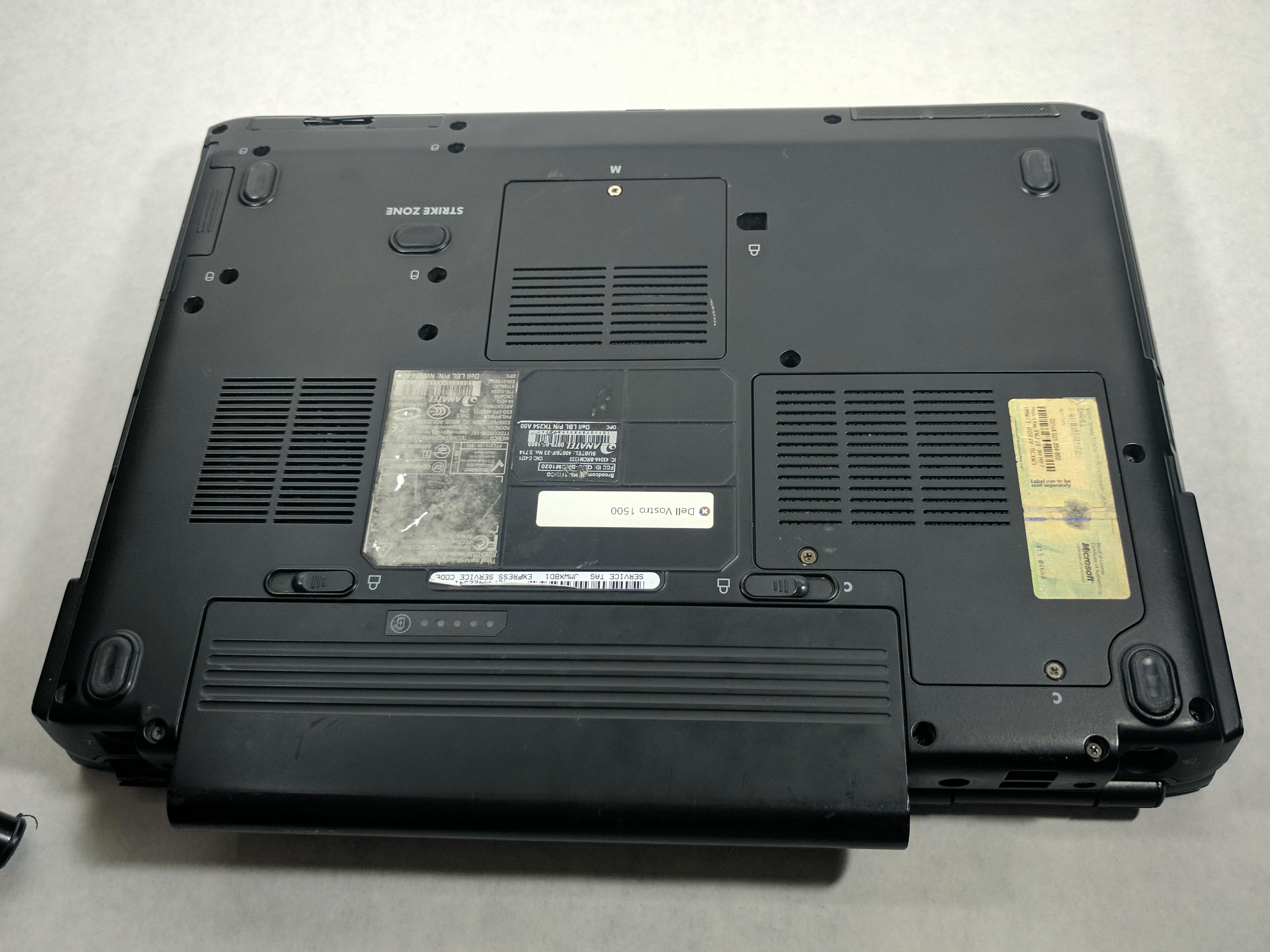 dell vostro 1500 repair ifixit rh ifixit com Dell Vostro 2520 Dell Vostro Laptop