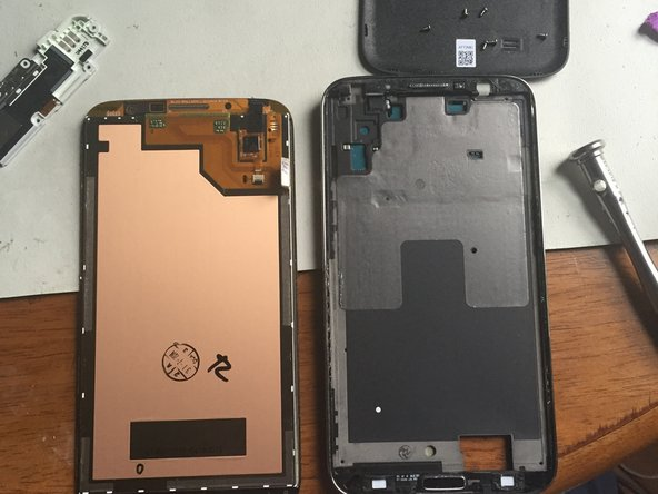 Follow the steps in reverse to install the new screen. Do not forget to assemble the home button, and the top speaker silver piece!