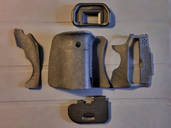 Canon EOS 60D Rubber grips Replacement