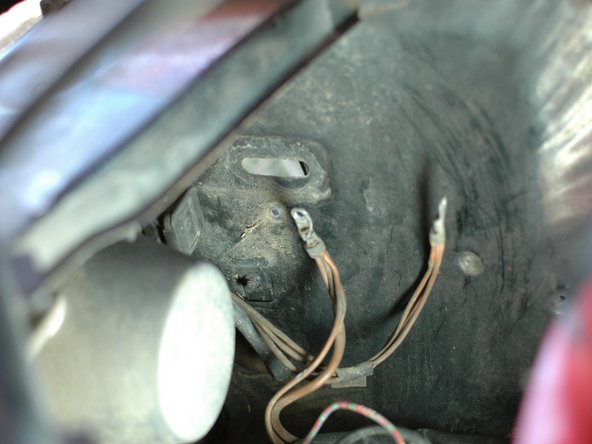 Image 3/3: Just as you did for the main battery ground clean the area where these wires connect to the chassis.