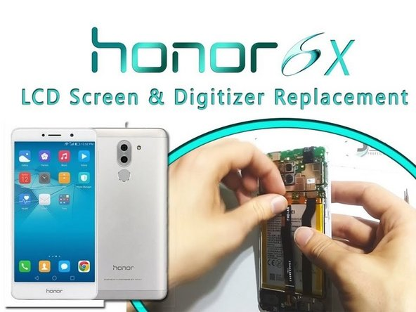 Huawei Honor 6 6X Display  Replacement