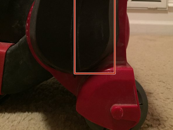 """Image 1/1: I noticed that there was a """"keyed"""" fit between the housing and the frame.  By rotating the housing and holding the frame steady I was able to carefully but firmly free one side of the housing and pull it away from the frame.   Once one side was removed, the other side could be easily taken out and the whole housing removed."""