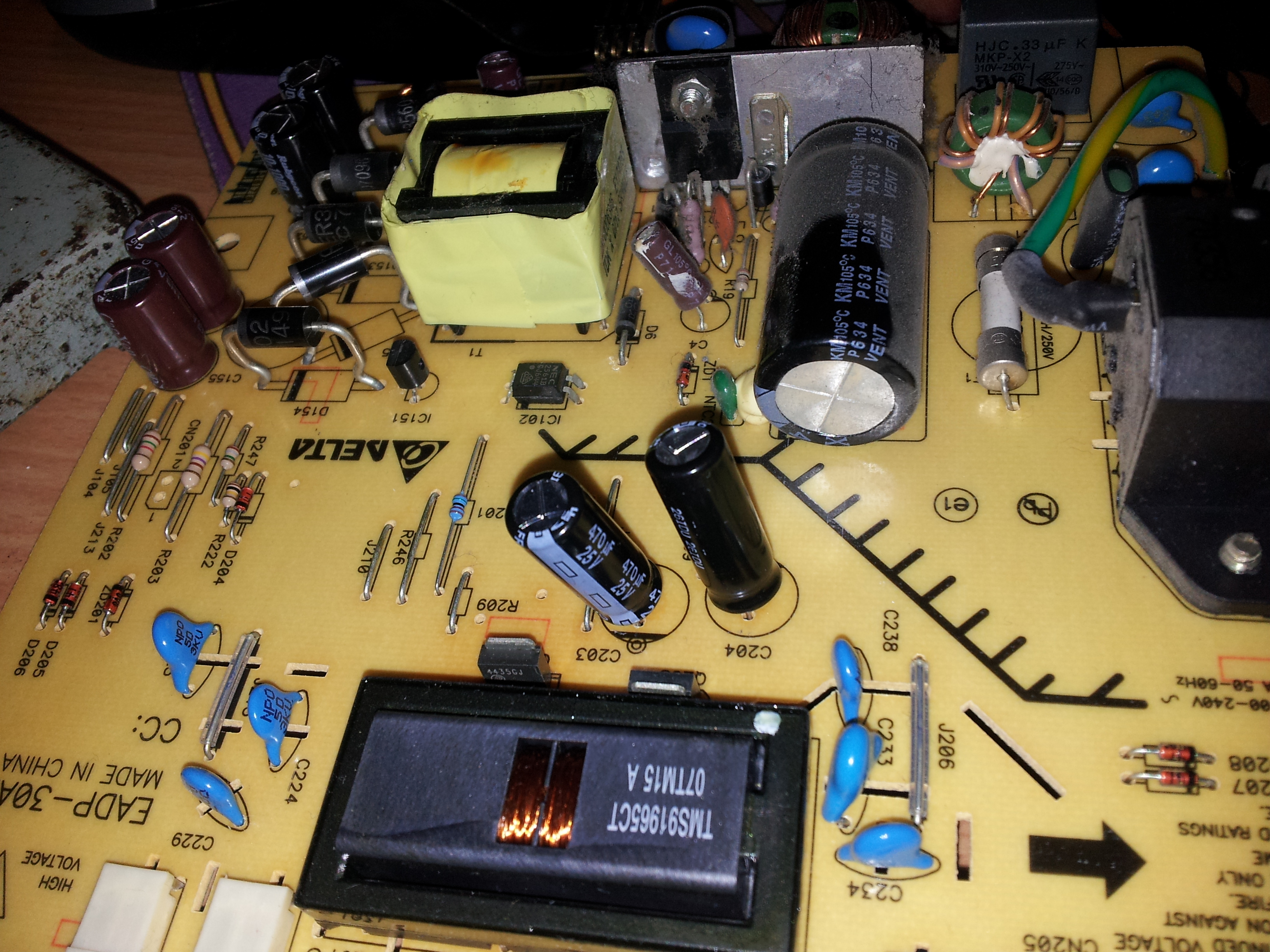 Repairing Lcd Monitor Dell 17 U0026quot