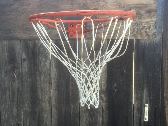 How to Replace the Net on a Basketball Hoop