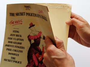 How to Repair Vintage Vinyl Record Covers