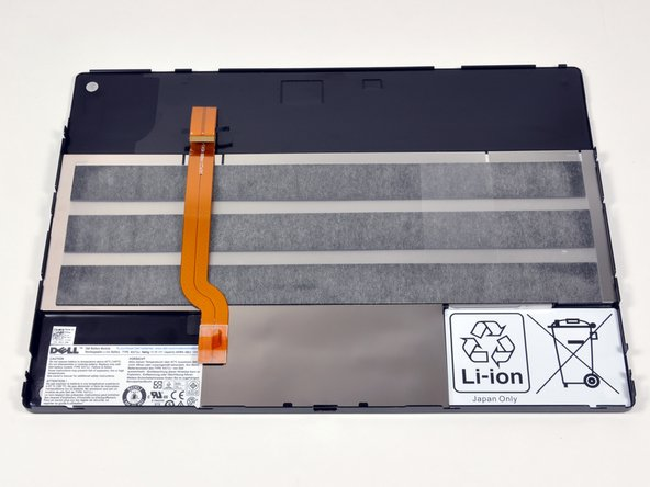 The bottom panel contains an integrated 6 cell Li-Polymer battery pack.