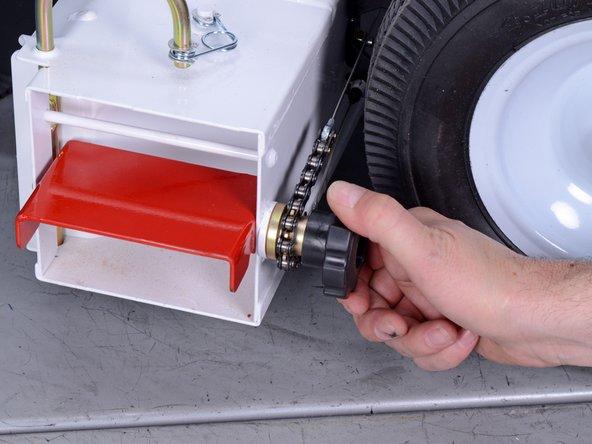 Little Wonder GX270 Honda Maximum Output Blower Deflector Knob Replacement