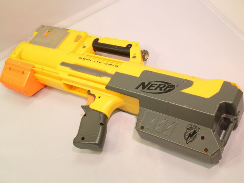 Vintage Nerf Firestorm Arrow Gun 1993 WORKING
