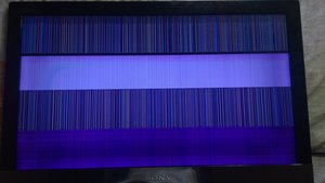 SOLVED: colored vertical lines all over screen of my tv - Television