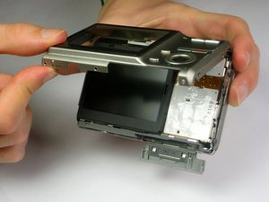 Casio Exilim EX-Z70 LCD Screen Replacement