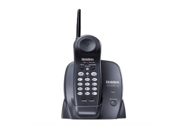 Image 1/1: 900 MHz Extended Range with One Touch RocketDial/Find Handset Locator and is Desk or Wall Mountable.