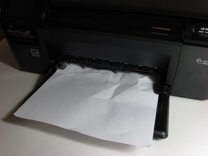 Does my paper for me jam on printer saying