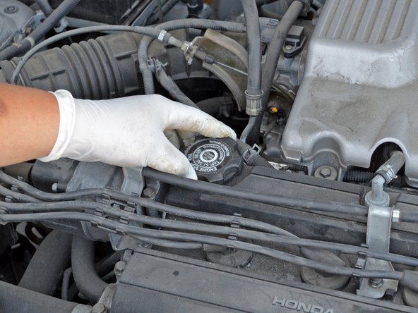Consult your owner's manual if you think your operating conditions call for a different oil viscosity.