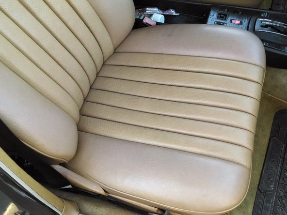 Mercedes W123 Front Seat Replacement