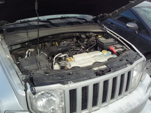 2010 Jeep Liberty Headlight Bulb Replacement