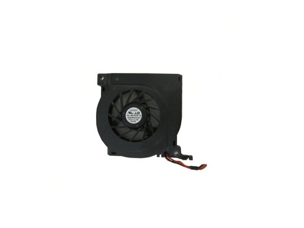Dell Latitude D610 Fan Replacement