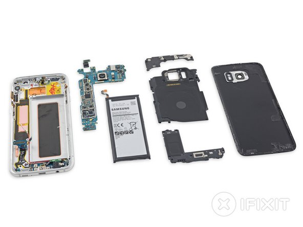 Samsung Galaxy S7 Edge Teardown