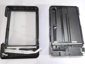 HP Photosmart D110a realigning scanner.