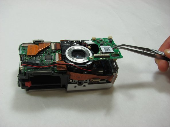 Canon PowerShot S50 Right Motherboard Replacement