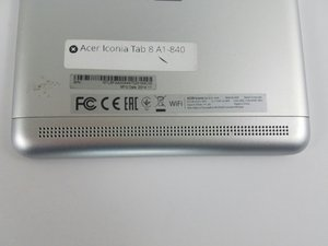 Acer Iconia Tab 8 A1-840 Speaker Replacement