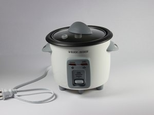 Black and Decker 3-Cup Rice Cooker Repair