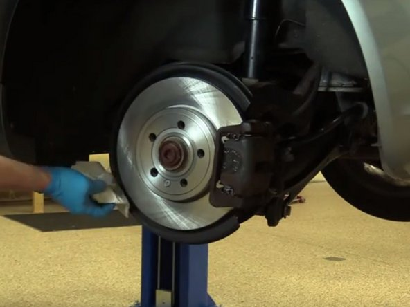 2004 2008 audi a4 b7 rear brake pads and rotor replacement 2004 2005 2006 2007 2008 ifixit. Black Bedroom Furniture Sets. Home Design Ideas