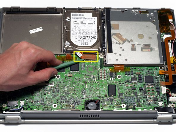 PowerBook G4 Titanium DVI Hard Drive Replacement