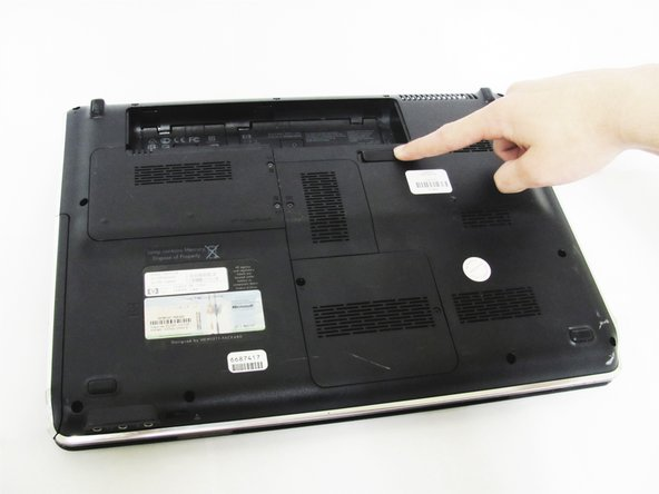 HP dv5-1125nr Battery Replacement