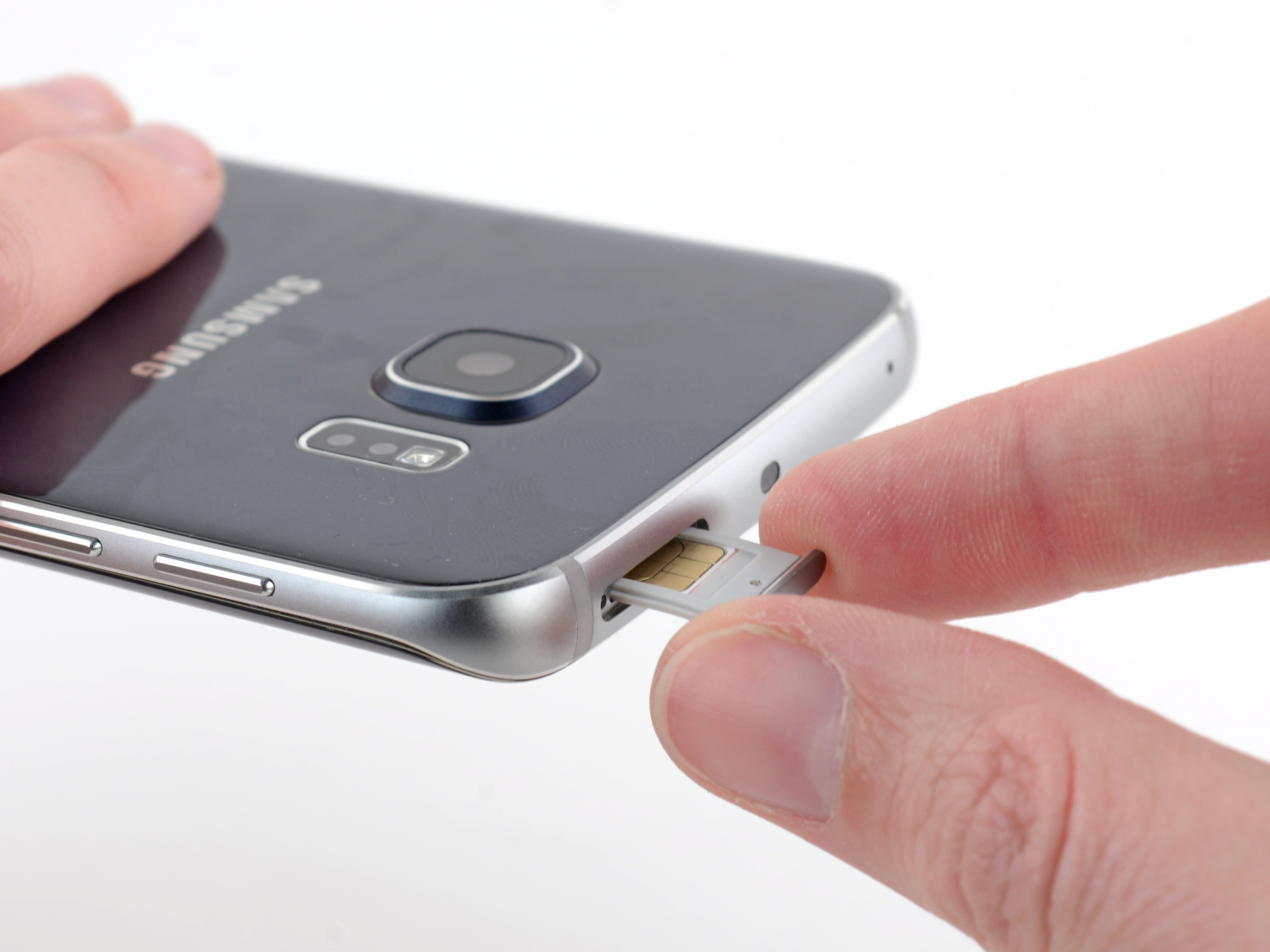 Remplacement Du Tiroir De Carte Sim Du Samsung Galaxy S6 Edge