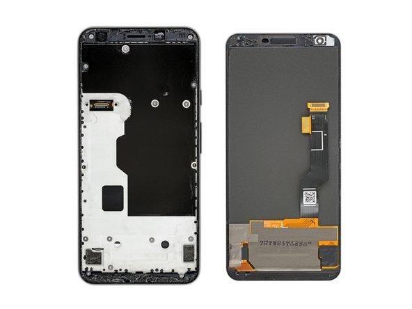 En los siguientes pasos removerás la pantalla del Pixel 3a cortando el adhesivo que lo sujeta en su lugar.
