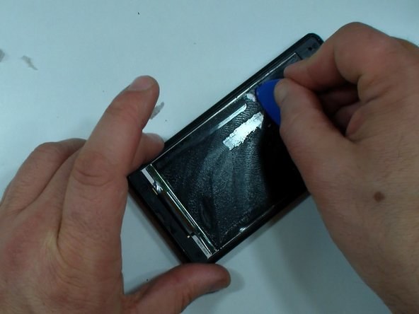 If the LCD is OK you can order only a touch screen, if no, then you need display assembly - touch screen & LCD