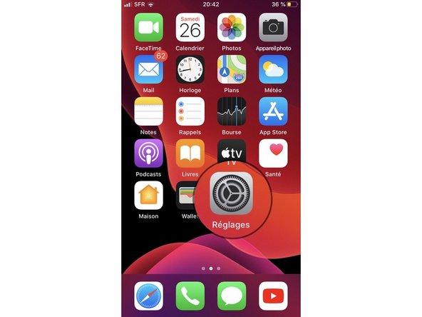 Mettre à jour un apparail iOS (iPadOS)