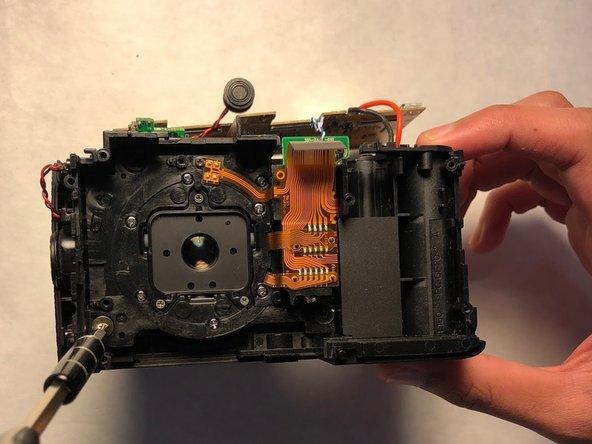 Change the broken inner lens with a new inner lens.